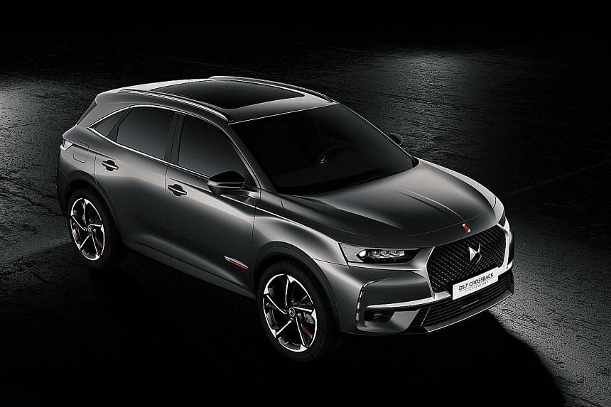 The new DS7 Crossback