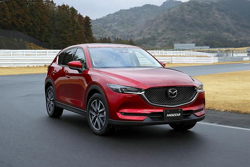 The new Mazda CX-5 is more spacious and quieter on the move.