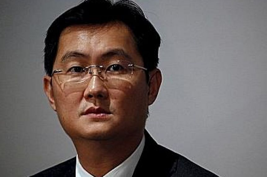 From top: Mr Pony Mah; Mr Robin Li; and Mr Zong Qinghou are among the wealthiest members of China's elite.