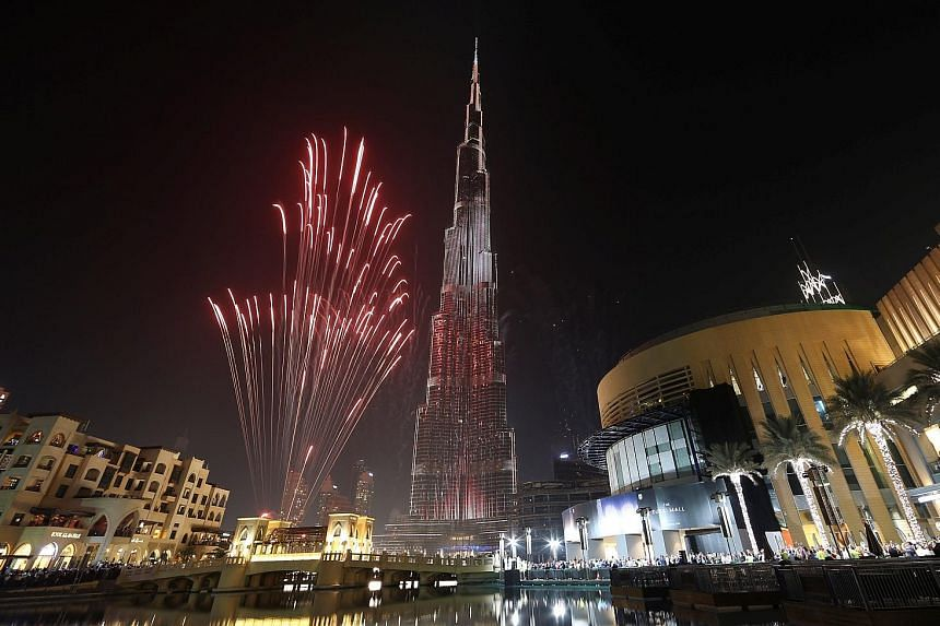 The Burj Khalifa, a mixed-use tower with apartments as well as offices and hotels, is the world's tallest building at 828m.