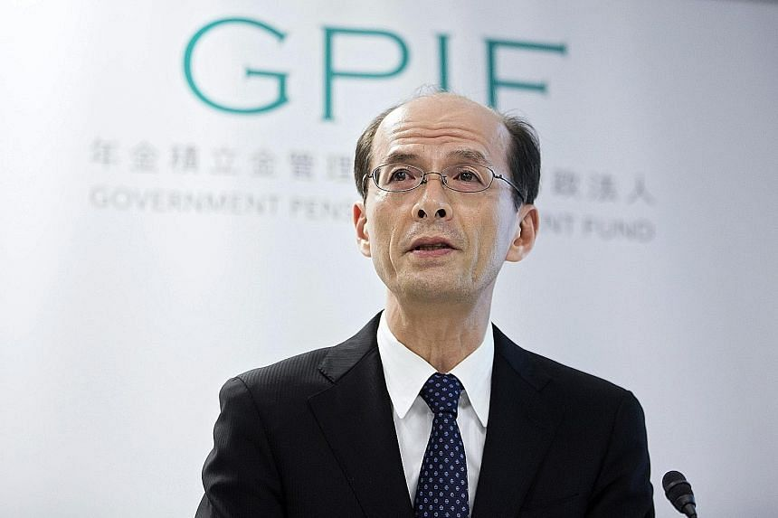 "In a statement yesterday, GPIF president Takahashi said the Japanese retirement fund ""invests with a long-term perspective and isn't swayed by short-term market moves""."
