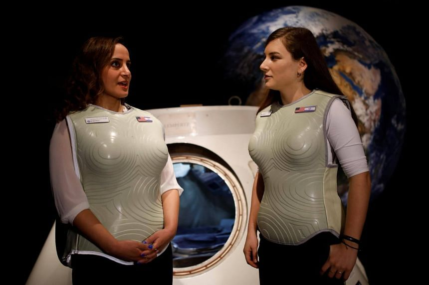 Stemrad's new protective vest, AstroRad Radiation Shield, is meant to protect vital human tissue, particularly stem cells, which could be devastated by solar radiation in deep space or on Mars.