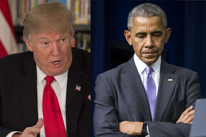 "US President Donald Trump accused his predecessor Barack Obama of ""tapping"" his phone during last year's White House campaign."