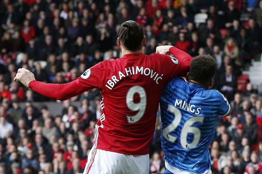 Ibrahimovic could face disciplinary action after appearing to elbow Bournemouth's Tyrone Mings.