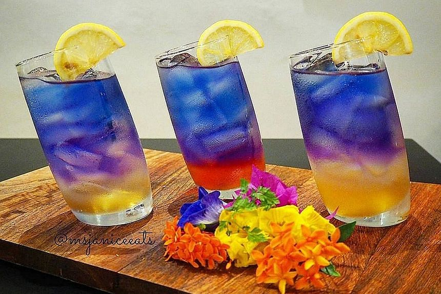Blue peaflower tea