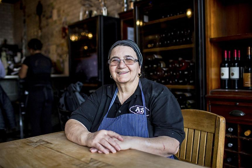 Adelina Orazzo at Enoteca Maria, an Italian restaurant on Staten Island where part of the menu rotates with home cooking from different global cuisines, on Feb 20, 2017.