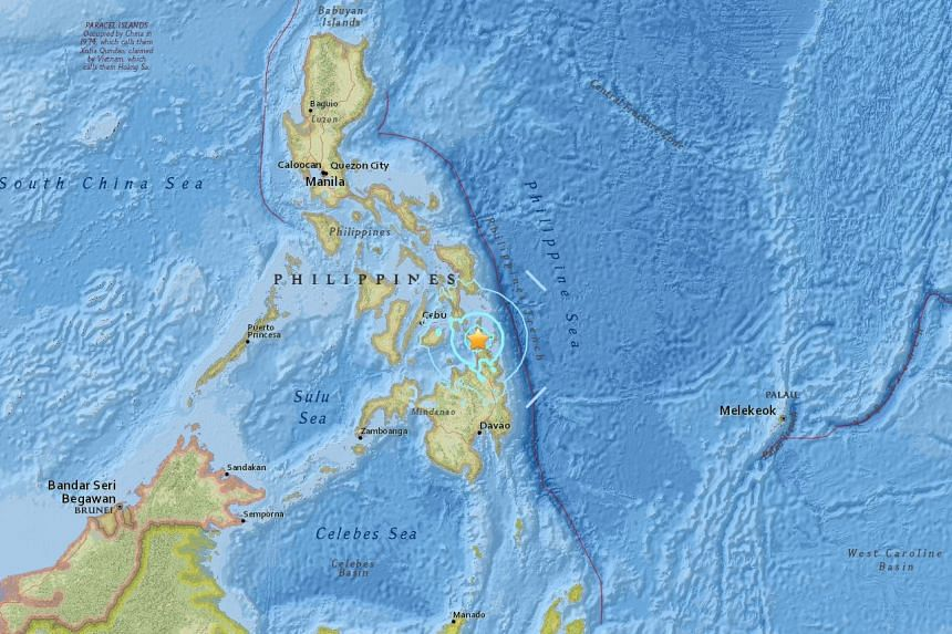 A 5.9-magnitude earthquake struck Surigao city on March 5, 2017, leaving one person dead and several injured.
