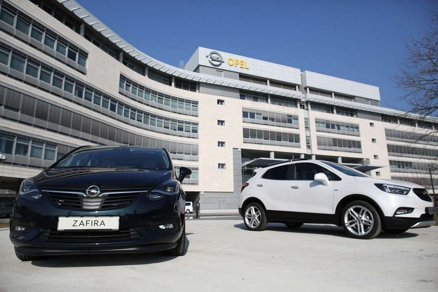 The deal includes the Germany-based Opel, its UK nameplate Vauxhall, as well as the GM unit's financing operations.