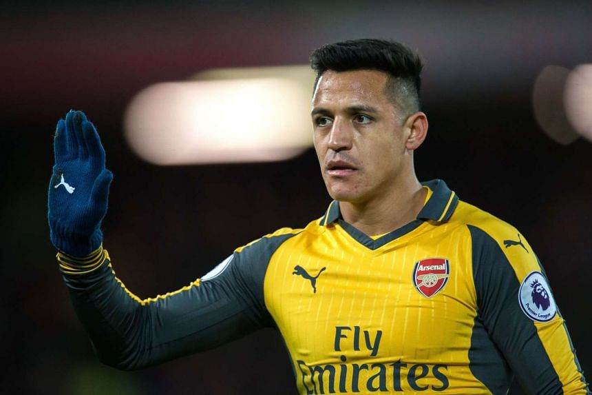 Alexis Sanchez has scored 17 goals in 26 league games so far this term but the Chile forward was left on the bench at Anfield.