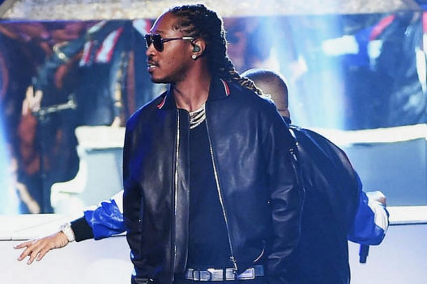 Rapper Future, 33, is one of the leading forces in Atlanta's rap scene.