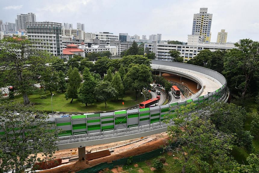The public works project has had a rocky path since it began in 2012. Its first contractor ran into financial difficulties and its second has run afoul of safety requirements. Sections of the flyover still appear unfinished and parts of the new pedes