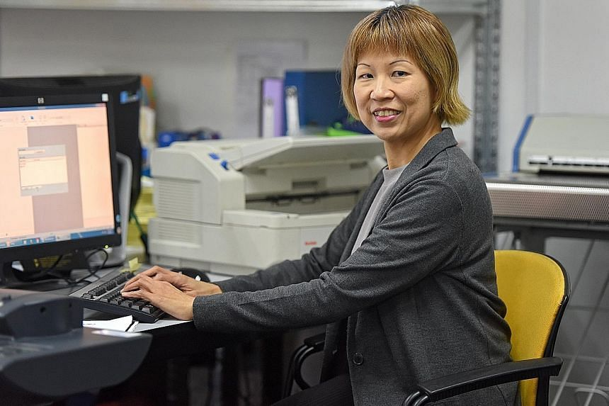 Ms Low, 52, rejoined the workforce last year after an 11-year break. The first few jobs did not work out, so she sought help from WSG.