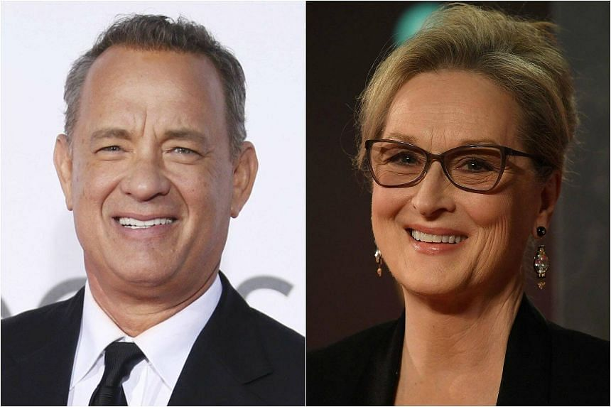 Oscar winners Tom Hanks (left) and Meryl Streep are joining forces for a new drama about the fourth estate called The Post.