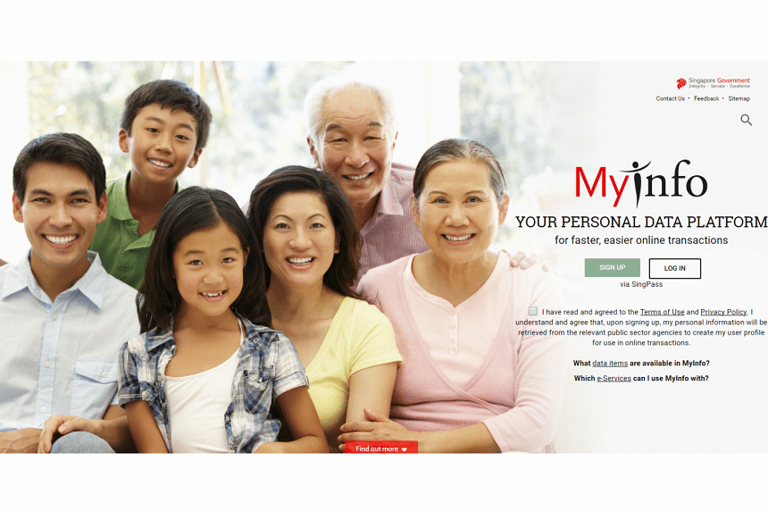 MyInfo, a government-backed digital vault of citizens' personal data.