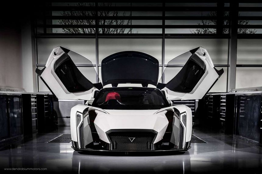 Singapore's first supercar, the Dendrobium, is making its debut at the prestigious Geneva Motor Show.