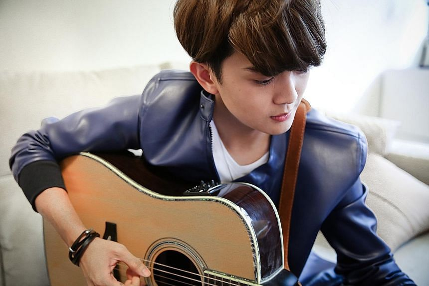Hubert Ng's song, Ni Ni, inspired by the interactions between a couple and their daughter, topped a Taiwanese music-streaming service's chart for more than a month last year.