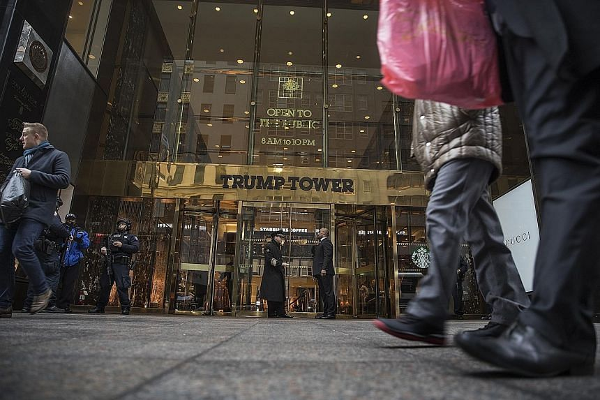 The apartment inside Trump Tower has been described as an uncommonly nice place to crash.