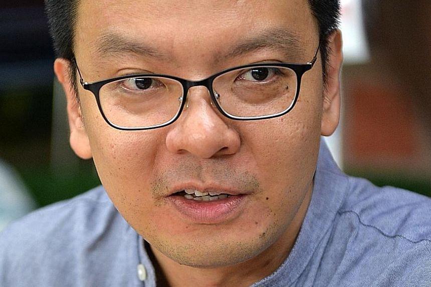 Non-Constituency MP Daniel Goh