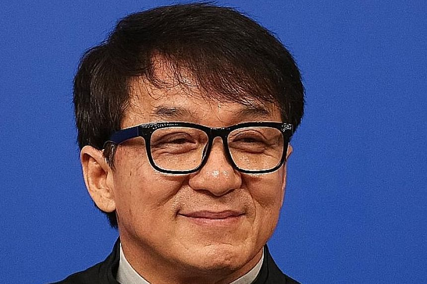 Jackie Chan says if more films from Hollywood are shown in China, the move can also spur local talents to upgrade skills.
