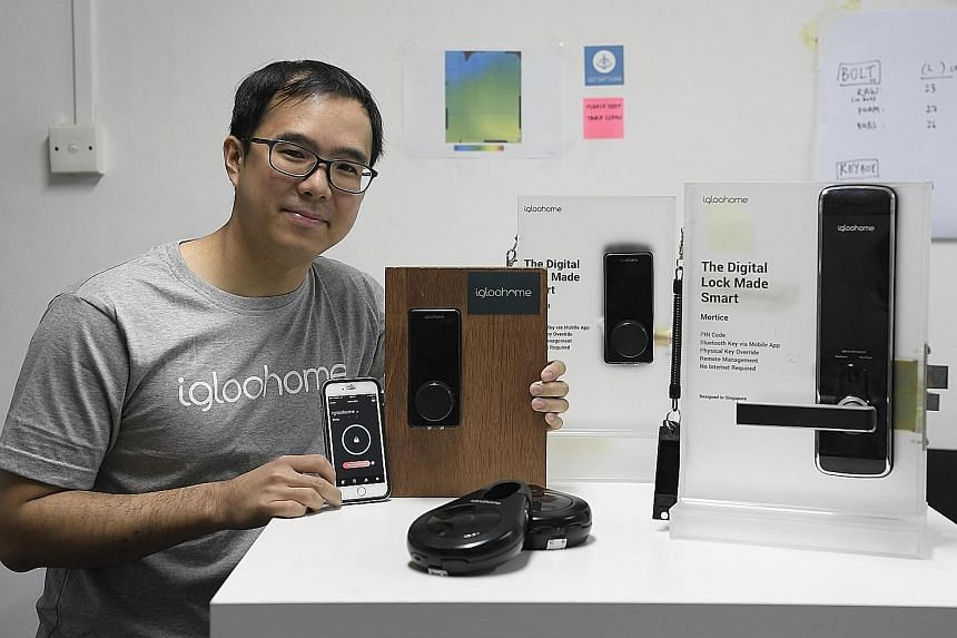 Mr Anthony Chow is the co-founder of igloohome, which produces the Smart keybox for the short-term rental market and homeowners. The product generates a PIN code for users to open the box to retrieve keys or cards.