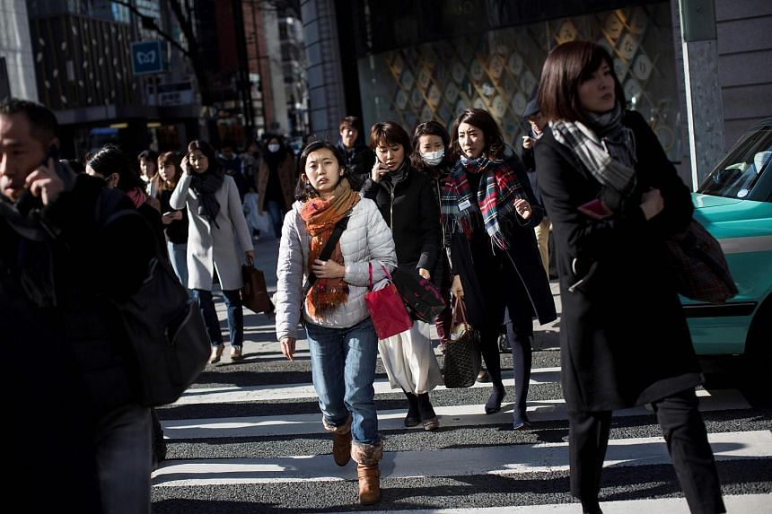 Japan's economy grew at an annualised rate of 1.2 per cent in the October-December quarter.