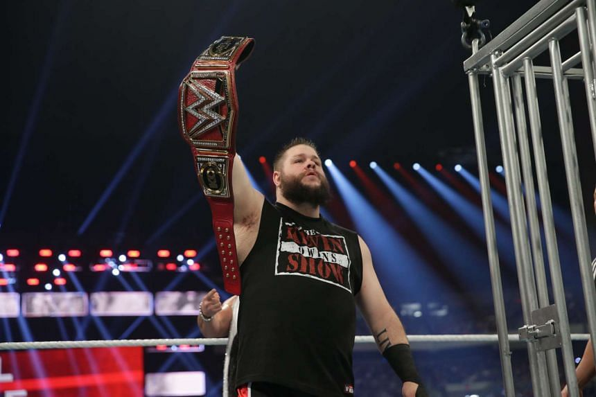WWE fans can catch former WWE Universal Champion Kevin Owens in action at the Singapore Indoor Stadium on Wednesday, June 28, 2017.