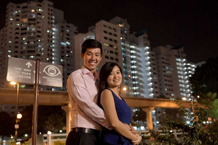 """Mr Quek and Ms Dee, both 24, are hoping that BTO flats with shorter waiting times will be released in Bukit Panjang as they are drawn to the amenities there. """"A shorter waiting time gives us the assurance and room to plan our future,"""" said Mr Quek."""