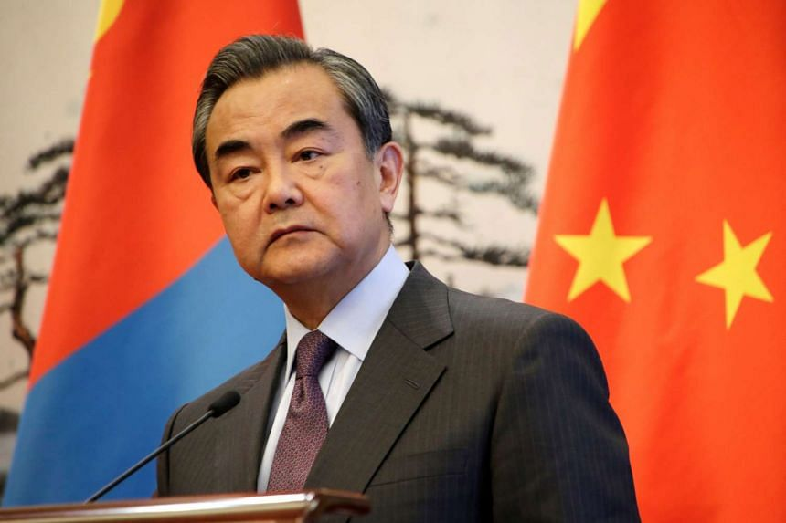 """Chinese Foreign Minister Wang Yi said on Wednesday (March 8) that China and the United States are holding """"fruitful communications""""."""