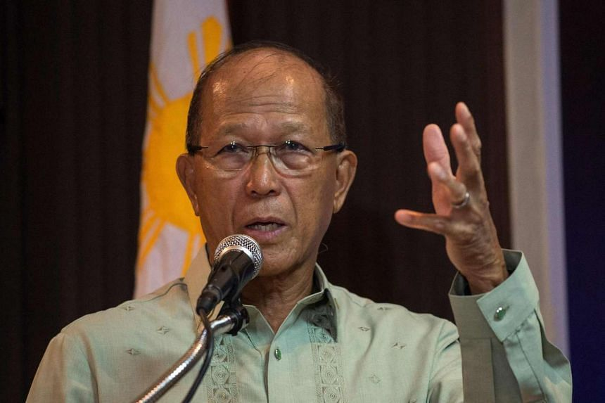 Defence Minister Delfin Lorenzana said Chinese ships had been monitored in recent months at various locations close to the Philippines.