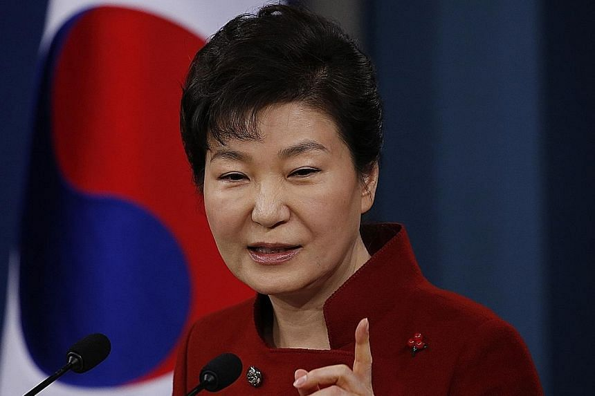 If her removal is upheld, Ms Park would become the first South Korean President to be sacked by impeachment.
