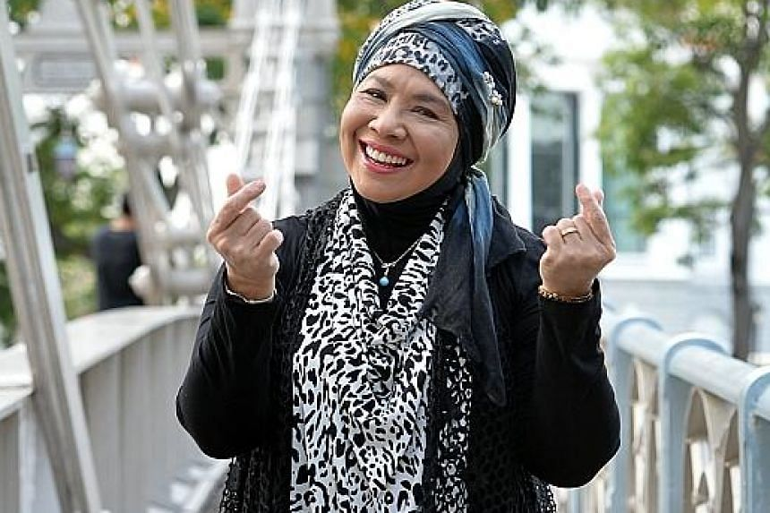 Singer Rahimah Rahim used to sneak into nightclubs to sing with her father.