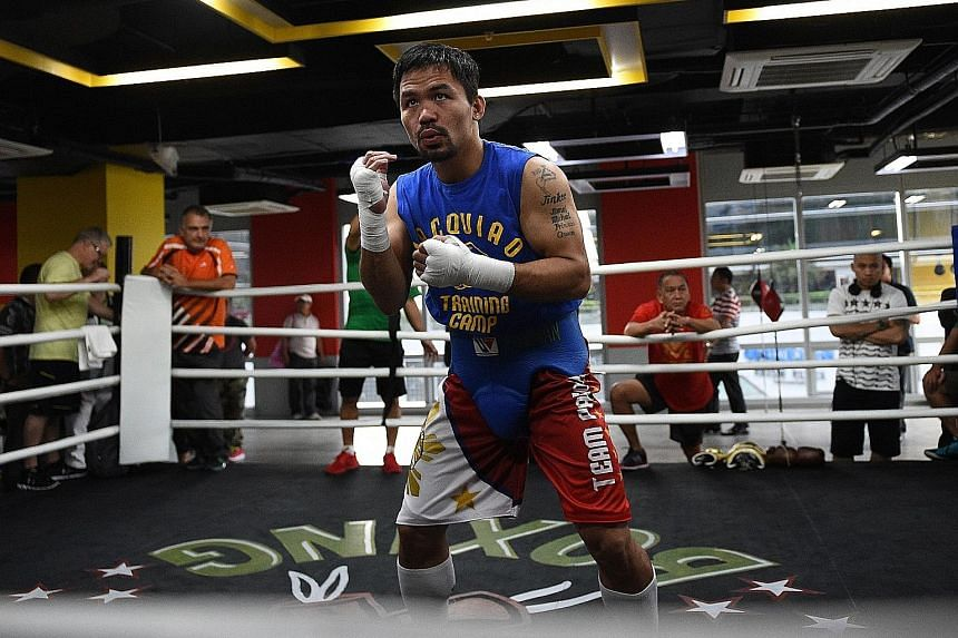 Manny Pacquiao will not be trading blows with Amir Khan. It remains to be seen if the superfight will take place.