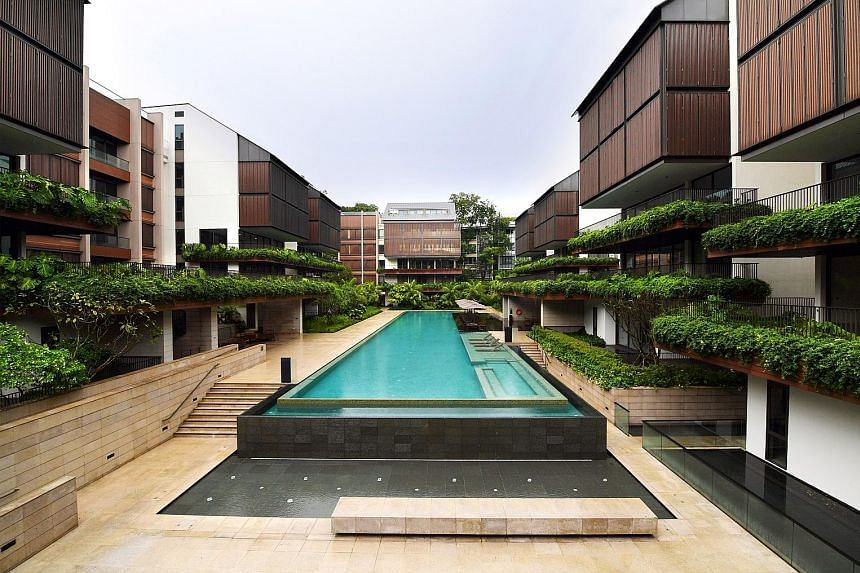 Banker Wee Cho Yaw bought 45 unsold units at The Nassim (above) for $411.6 million through the purchase of a 100 per cent stake in Nassim Hill Realty.
