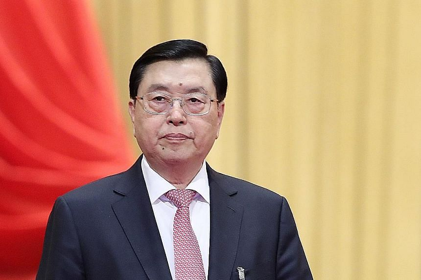 Mr Zhang says Beijing's constitutional intervention in Hong Kong safeguards sovereignty and security.