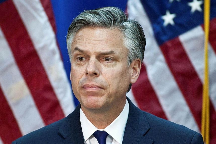 Mr Jon Huntsman, 56, has previously served as an ambassador under both Republican and Democratic presidents.