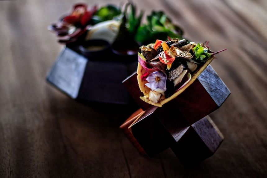 To order the world's most expensive taco, a customer has to put down a US$12,500 (S$17,700) deposit and already be staying in the presidential suite.