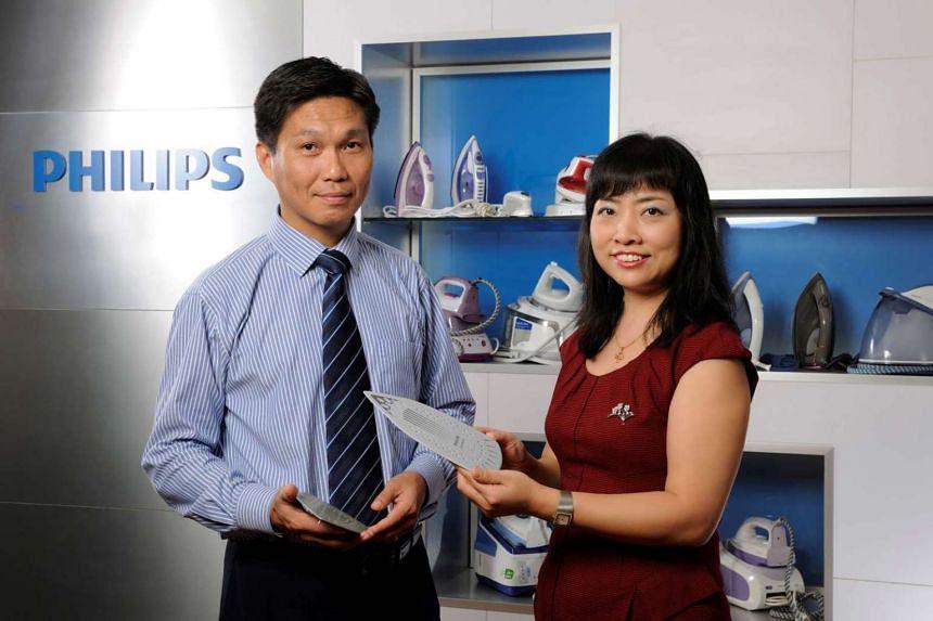Linda Wu with Philips BK - Sol gel