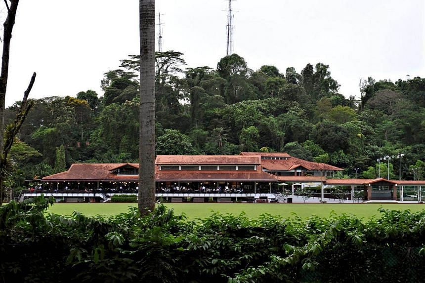 The Singapore Polo Club at Mount Pleasant Road.