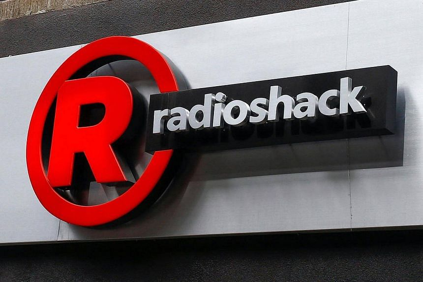 A sign for a RadioShack store in the Brighton Beach section of the Brooklyn borough in New York on March 4, 2014.
