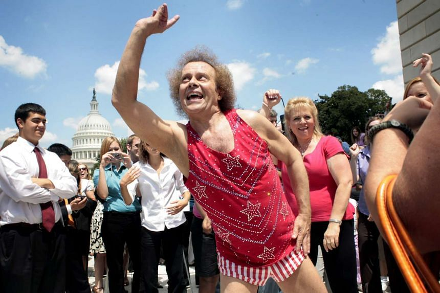 Richard Simmons on Capitol Hill in 2008. He has not been seen in public since 2014.