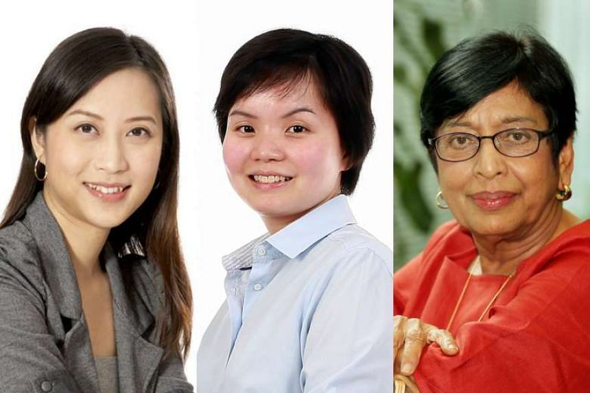 (From left) Research scientist Tan Yen Nee, Research scientist Sharon Nai and Dr Kanwaljit Soin, a surgeon.