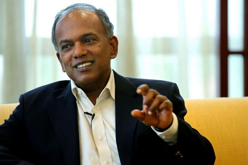 Mr Shanmugam, who was on a working visit to Australia between Tuesday and Friday, had discussions covering law and order, security and legal matters.