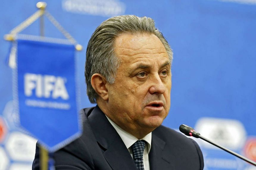Russian Football Federation President Vitaly Mutko during a press conference on Nov 26, 2016 in Kazan, Russia.