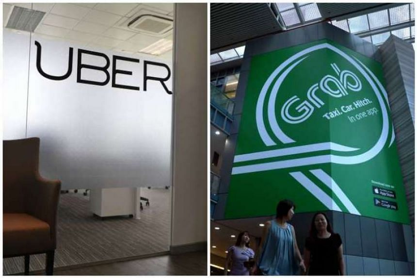 The moves are an apparent bid by Uber and Grab to ensure they do not lose drivers because of the new licensing regime.