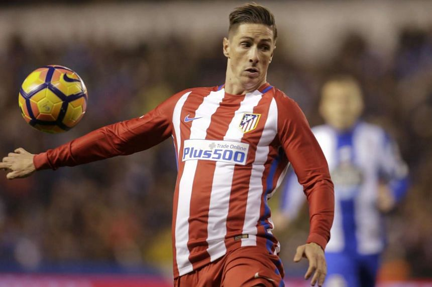 Atletico Madrid's Fernando Torres in action at the Riazor Stadium, A Coruna, Spain on March 2, 2017.