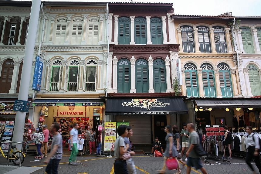 The Chinatown Street Market will be getting a long-awaited facelift. Work will start on May 15, beginning with stalls along Pagoda Street (pictured), and is to be completed by the end of next year.