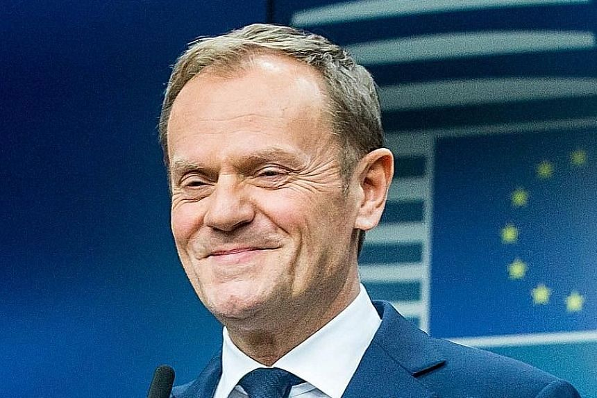 Last year, Mr Tusk addressed the migration crisis in Turkey and handled the EU's response to Brexit.