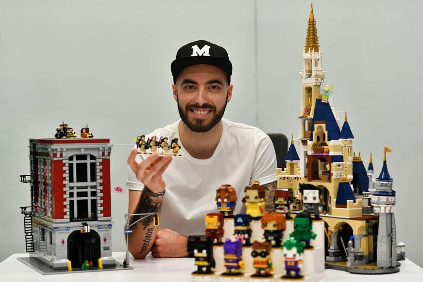 Mr Marcos Bessa keeps most of his creations out of sight at home.