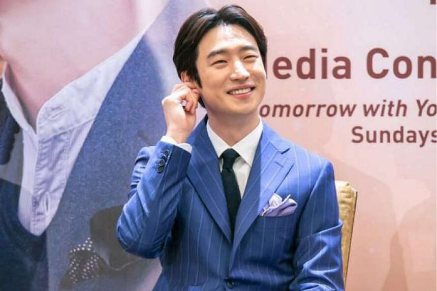 South Korean actor Lee Je Hoon portrays a romantic character in the drama series, Tomorrow With You.