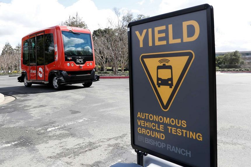 California plans to ease rules for the testing of self-driving vehicles.